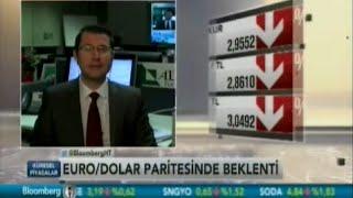 ALB Forex Araştırma Uzmanı Onur Altın, Euro/Dolar paritelerini değerlendiriyor. Bloomberg HT