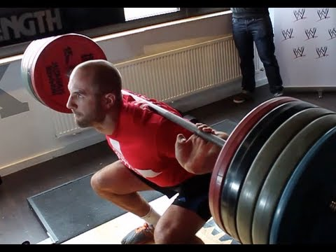 WWE Star Antonio Cesaro - press conference & Training GYM ROCK SPORTSCLUB