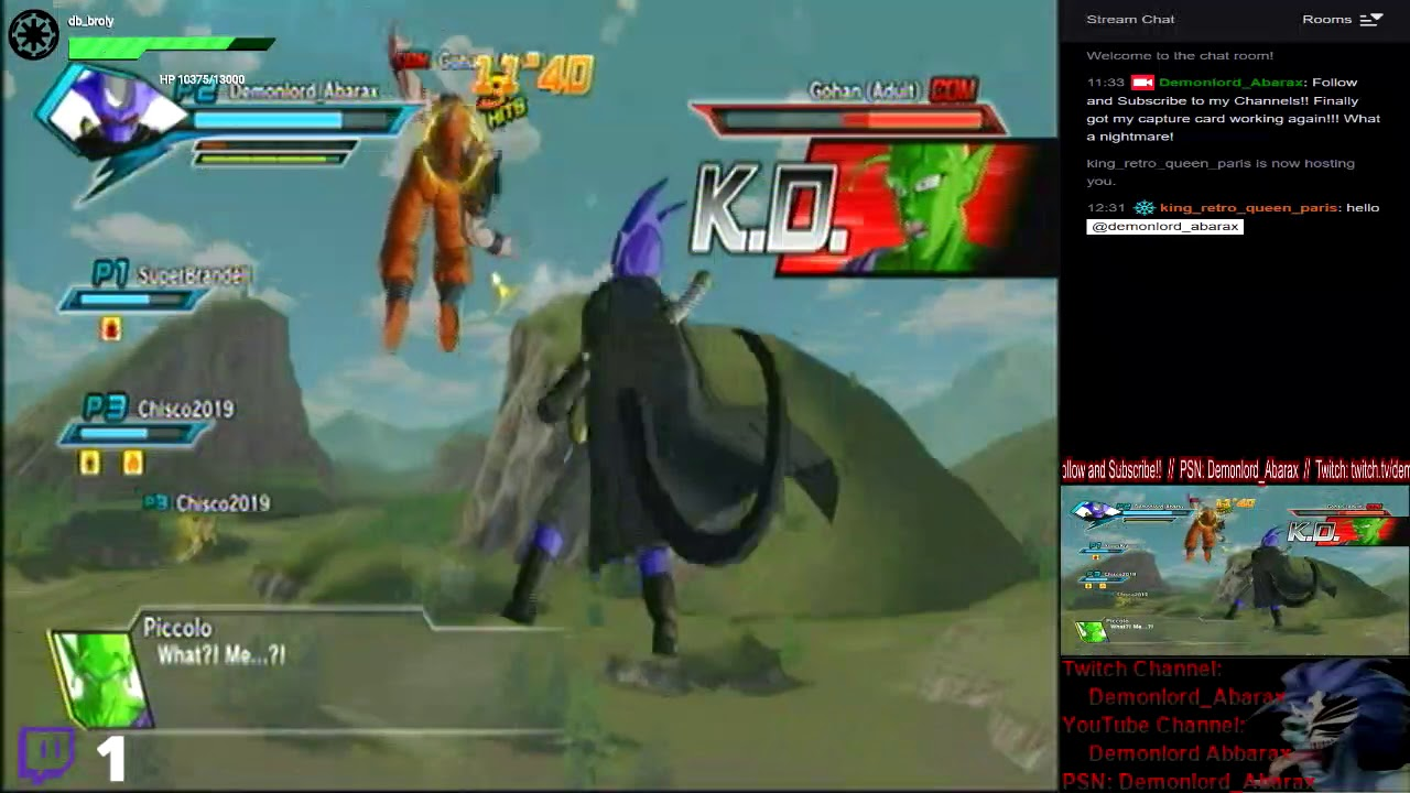 [PS3] Dragonball XenoVerse - {Brand New Char. Multiplayer #31}