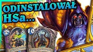 Odinstalował HSa po tej grze! - N'Zoth Warlock #14 by NoHandsGamer - Doom in the Tomb