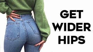 How To Get BIGGER Hips and Butt| 4 Exercises To Reduce Hip Dips! (Fuller Curves)