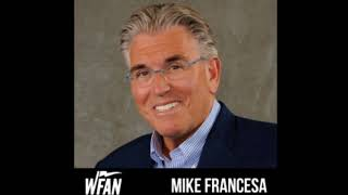 Mike Francesa-Bob Usler,Julio the driver,Lawrence Taylor, Mike sings happy birthday to Julio WFAN