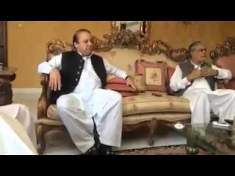 Nawaz Sharif scratching his balls, (atomic instrument is on safe hands)