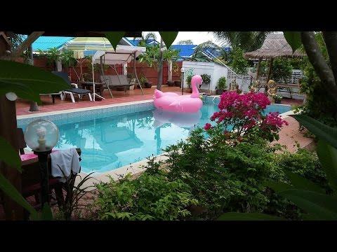 บ้านพักดอกชมนาด ทะเลแสมสาร สัตหีบ บ้านฉาง ระยอง 3900 พักได้ 8ท่าน