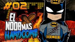 Minecraft El Noob Más Hardcore Pt 2 (El Fedelobo)