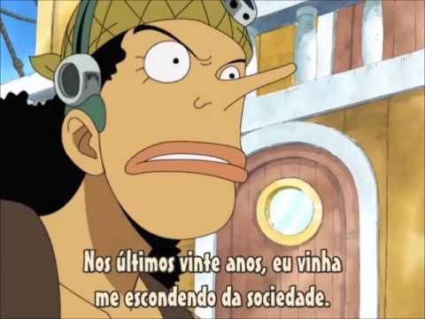 One Piece - Engraçado (Entrevista de Usopp a Robin)