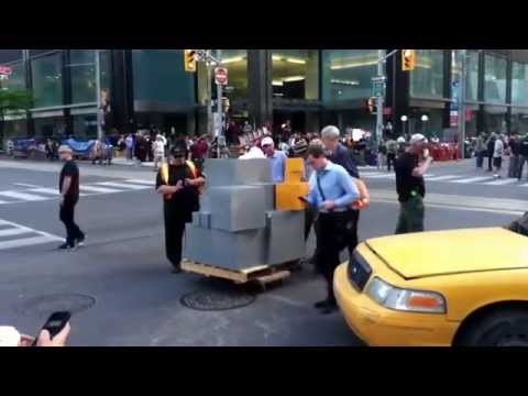Bay Street Toronto becomes Wall Street New York.