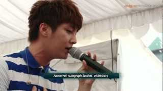 纪念日 (Aaron Yan 炎亞綸) (Live) @ Plaza Singapura