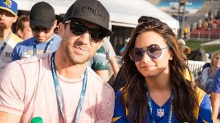 Demi Lovato & Luke Rockhold Make First Public Appearance & Deletes Controversial Election Tweet