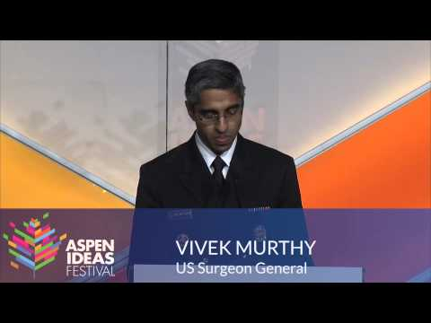 US Surgeon General Vivek Murthy prescribes happiness