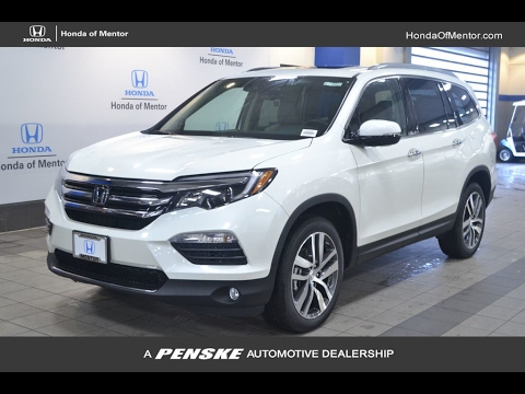 Honda Pilot 2018 2017 White Washington Dc Car Show