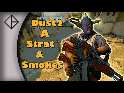 CS:GO - Dust2 Short A Strategy - Team & Solo Execute & Smokes [Xen's Playbook #9]