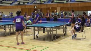 第34回関東オープン卓球大会 女子50歳未満 戦