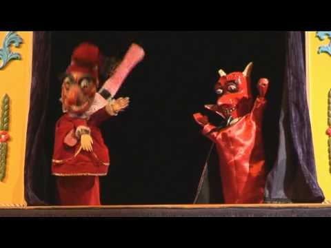 "Ken Harper's Punch and Judy .... ""Punch and the Devil"""