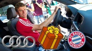 Les bolides offerts aux joueurs du Bayern Munich
