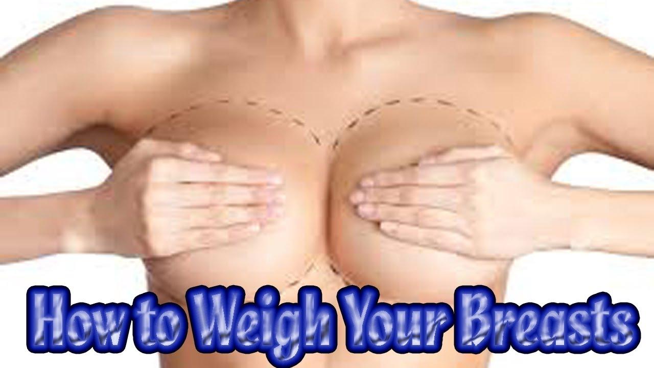 Boob much weigh