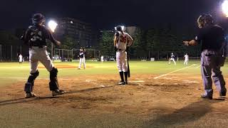20180616 연습경기 @世田谷公園野球場 vs Abends 9:6 승.