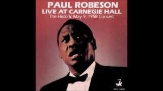 Video Paul Robeson - Joe Hill (Live from Carnegie Hall) download MP3, 3GP, MP4, WEBM, AVI, FLV Oktober 2018