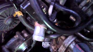 2000 CADILLAC DEVILLE WATER PUMP INSTALLATION 5