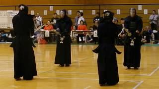 18八潮大会 演武 国士館大学剣道部 模範稽古