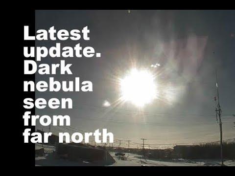 Update on the dark nebula viewed from far north. Apr 21 2018