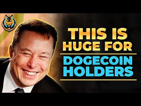 Elon Musk Leaks Huge Benefits For Dogecoin In 2021 (Big Announcement!)