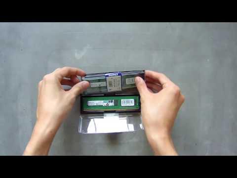 Setup - Unboxing - Kingston ValueRam 2x8GB DDR4 2133MHz
