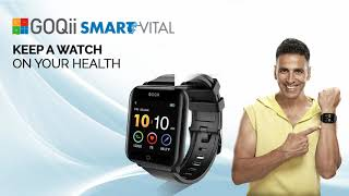GOQii Smart Vital - Keep a watch on your health