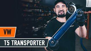 Poly v-belt change on VW TRANSPORTER V Box (7HA, 7HH, 7EA, 7EH) - video instructions