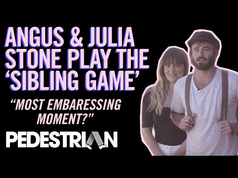 Angus & Julia Stone Play The Sibling Quiz