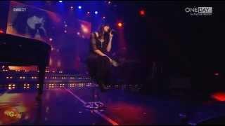 Nolwenn Leroy chante Sad Lisa à la 3ème nuit de la déprime