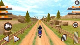 Sports Bike Stunt Racing Game Gameplay Android