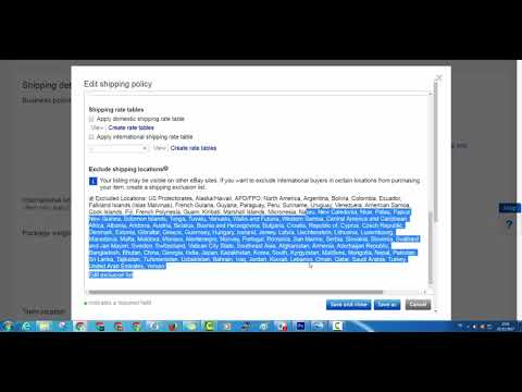 Kifach Tsawb Shipping Policy fi Ebay lproduct kayn fi AliExpress