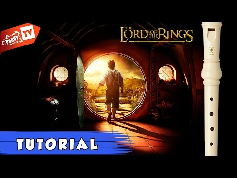 How wo play Concerning Hobbits on Recorder (Tutorial)