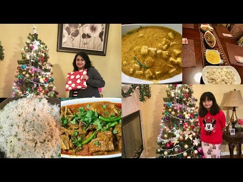 Vlog : What Food Did I Cook For Christmas Party | A Day In My Life | Simple Living Wise Thinking
