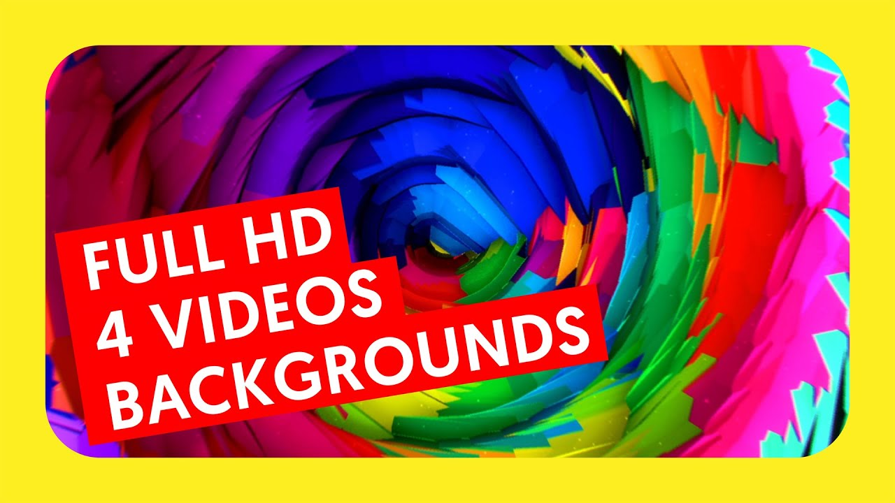 Colorful Background 4 HD Pack YouTube