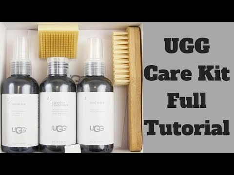 UGG CARE KIT FULL TUTORIAL