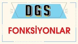DGS FONKSİYONLAR - ŞENOL HOCA