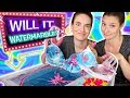 Will It Watermarble?! Sister Edition   Watermarbling 9 random objects in nail polish!