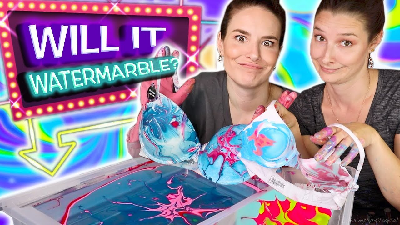 will-it-watermarble-sister-edition-watermarbling-9-random-objects-in-nail-polish