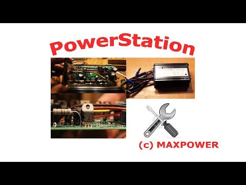 Ремонт и устройство контроллера для мотор-колеса