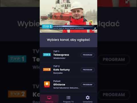 Telewizja W Smartfonie IOS Iphone Aplikacja WP PILOT