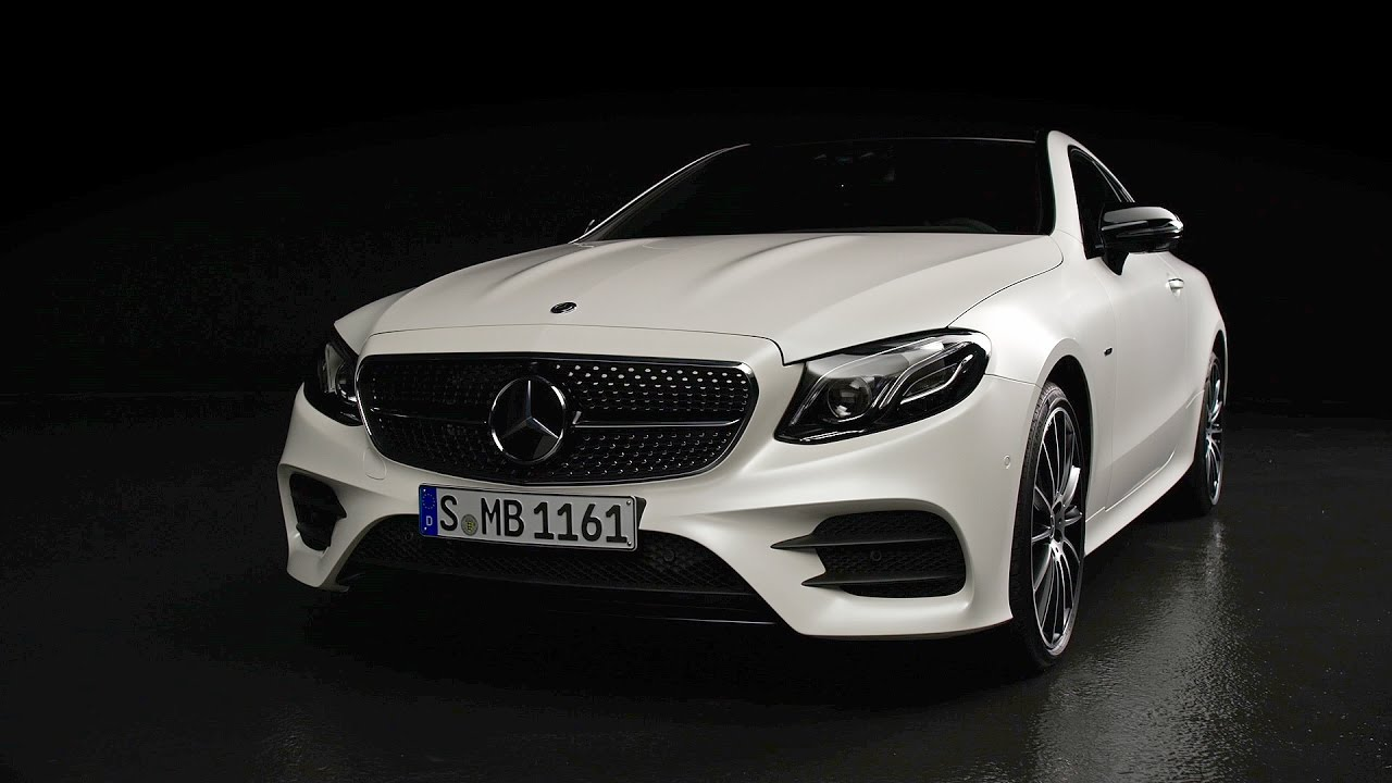 E400 Coupe 2018 >> 2017 Mercedes-Benz E-Class Coupe Edition 1 - YouTube