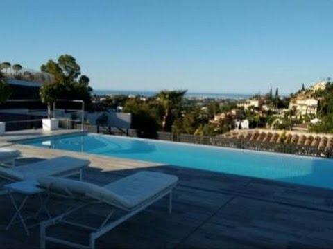 Villa piscine priv e bord de mer espagne la maison de for Villa espagne piscine bord de mer
