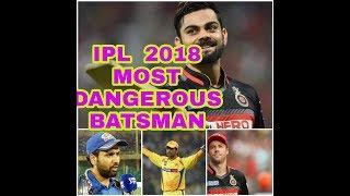 आईपीएल 2018 में Top 10 सबसे खतरनाक बल्लेबाज