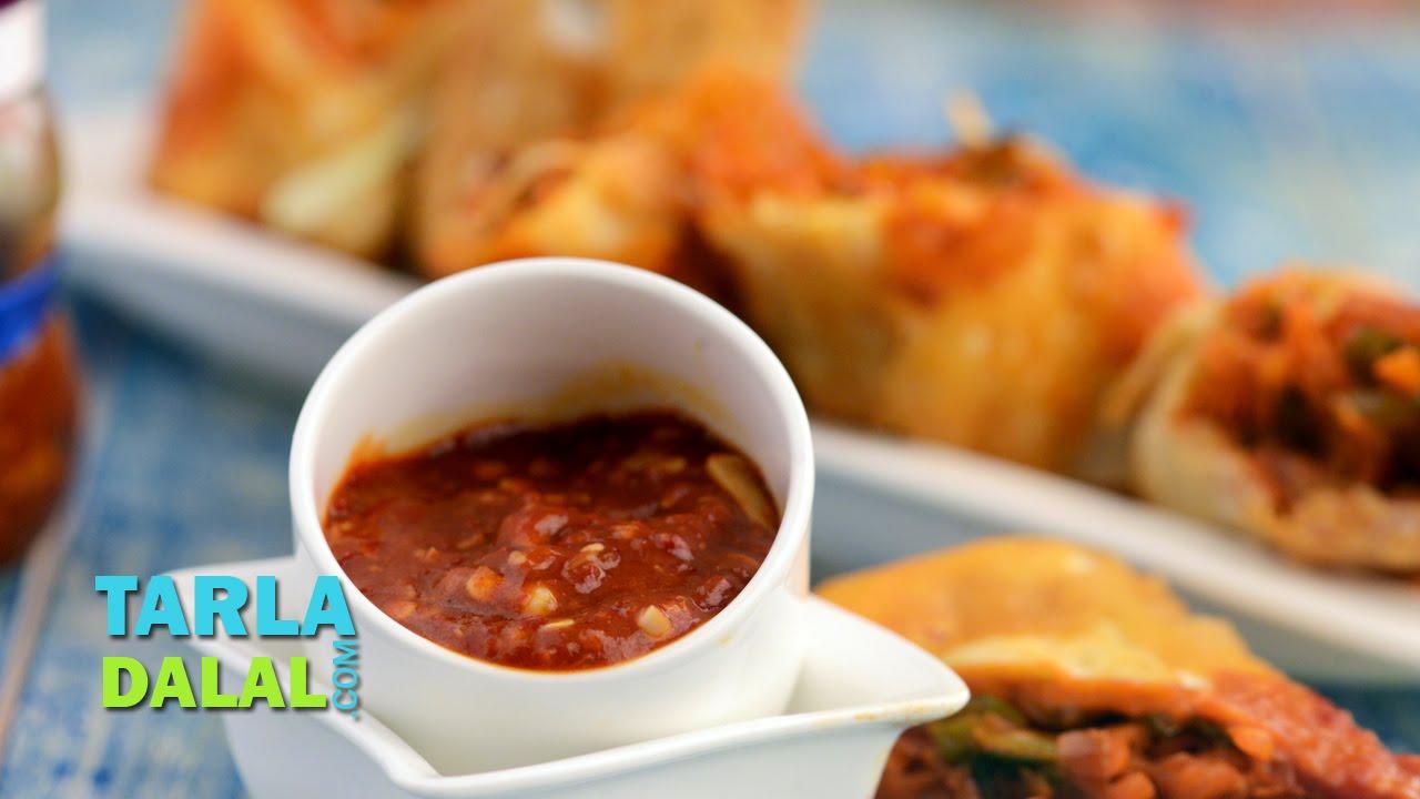 Schezwan sauce schezuan sauce chinese recipe by tarla dalal youtube forumfinder Images
