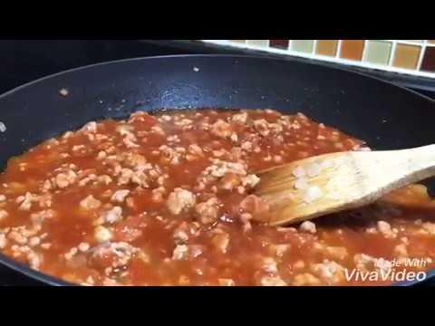 วิธีทำซอสสปาเก็ตตี้แบบง่ายๆ How to make sauce  spaghetti