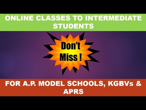 MORNING -ONLINE CLASSES FOR INTERMEDIATE 26th Oct, 2020