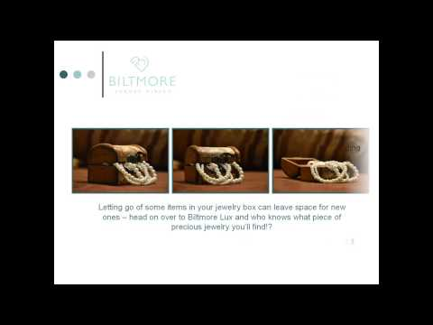 Spring Cleaning your Jewelry Box - Tips by Biltmore Lux