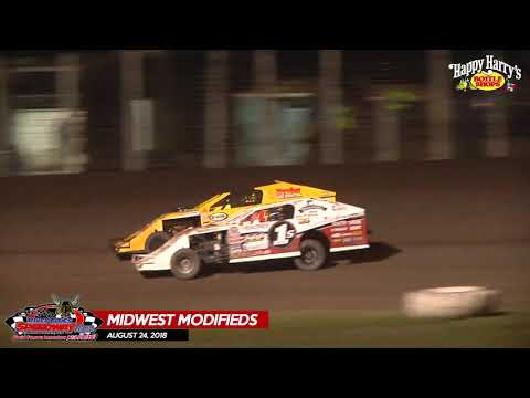 08.24.18 Midwest Mods - River Cities Speedway